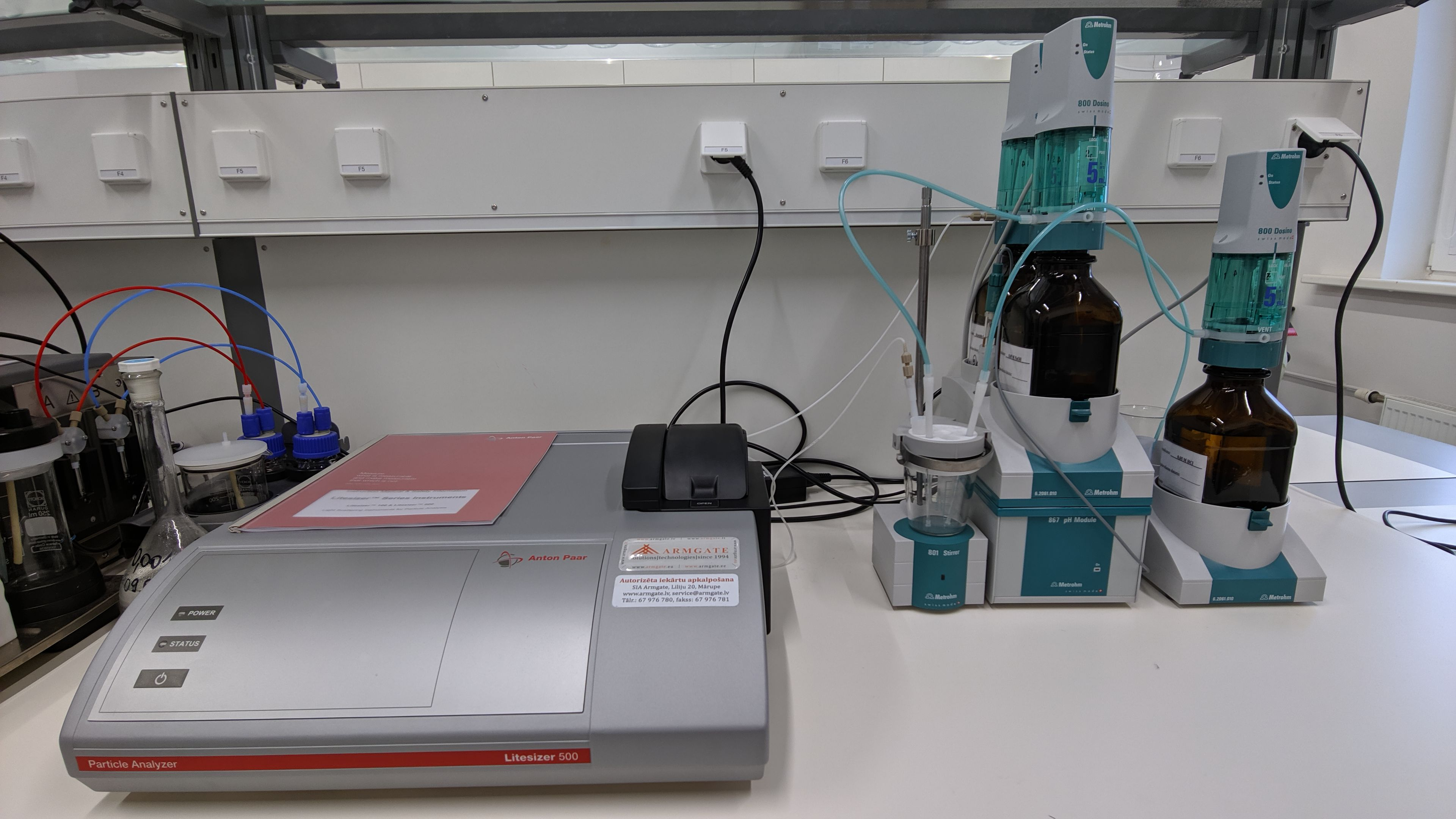 Picture of Particle size analysis equipment